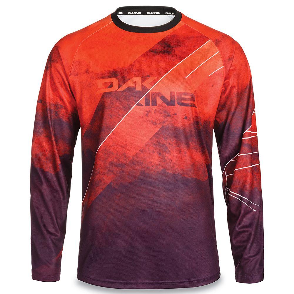 Koszulka rowerowa jersey dakine thrillium l/s red rock blaze