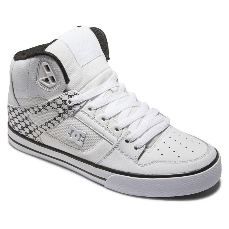 Buty Dc Shoe USA Pure HIGH-TOP WC WBM białe