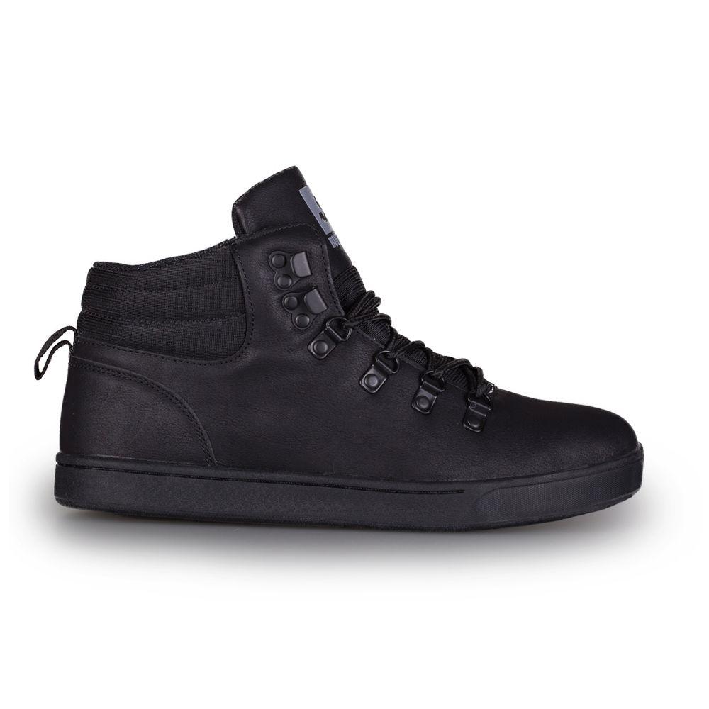 Buty Zimowe Bustagrip dude czarne sneakersy