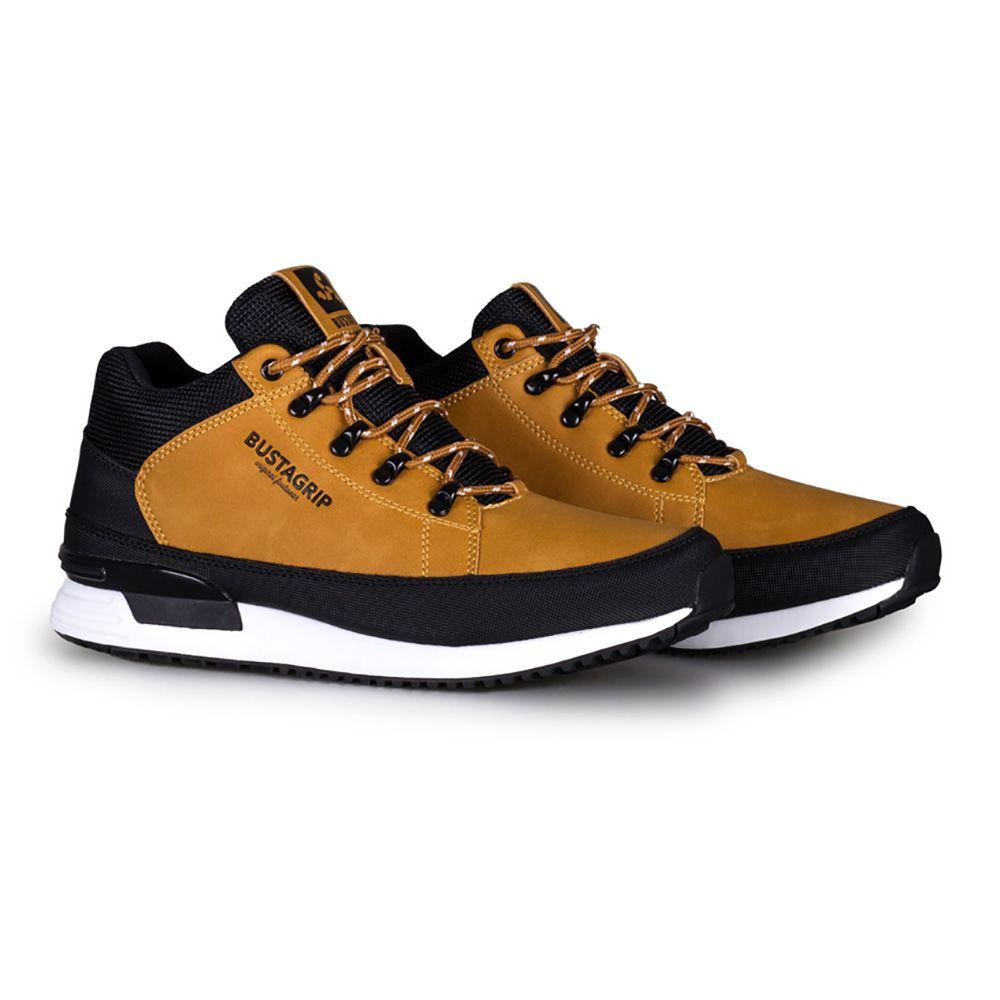 Buty Zimowe Bustagrip Cruiser sneakersy żółte