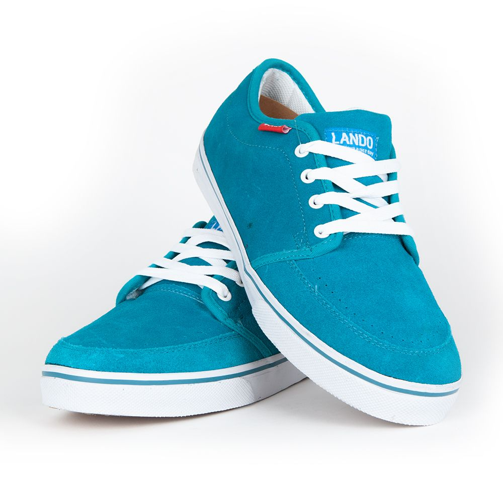 BUTY LANDO SUPER NICE 604 blue Turkus Outlet