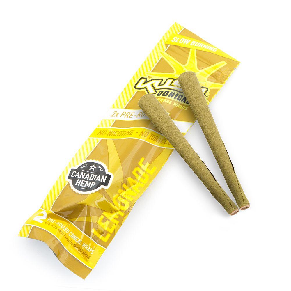 Bibułki Kush Herbal Wraps Owijki Lemoniada 2szt.