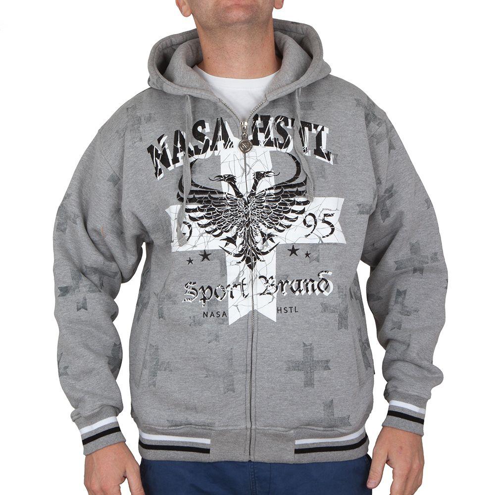 Bluza Nasa Hustla Sport Grey Outlet