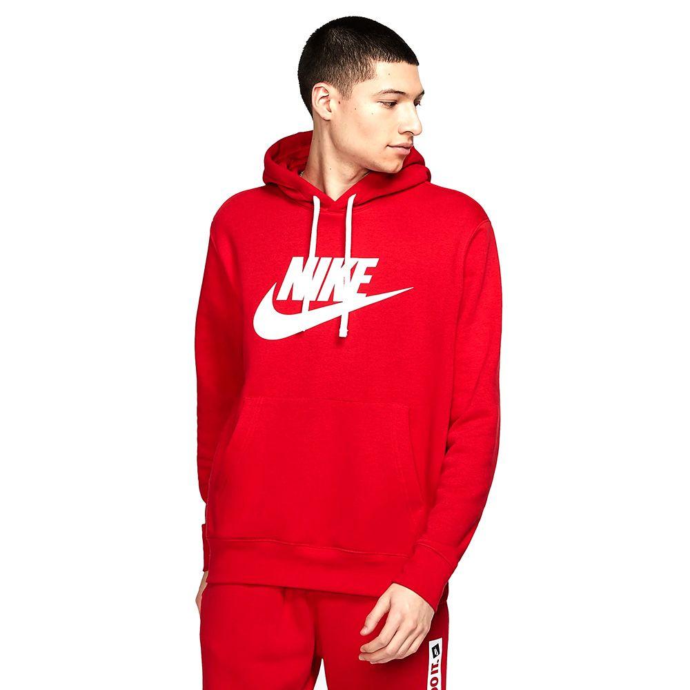Bluza Nike sportswear club czerwona size+
