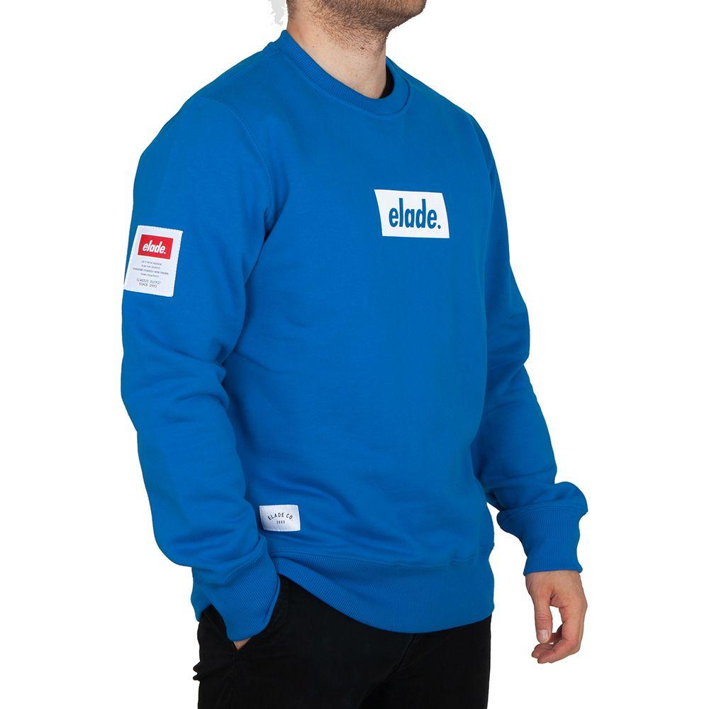 Bluza bez kaptura Elade BOX Niebieska