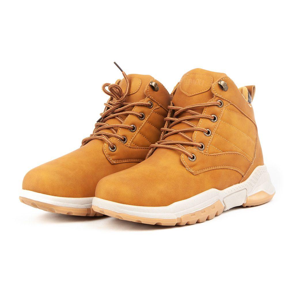 Buty obuwie zimowe DEBAOLI długie miodowe