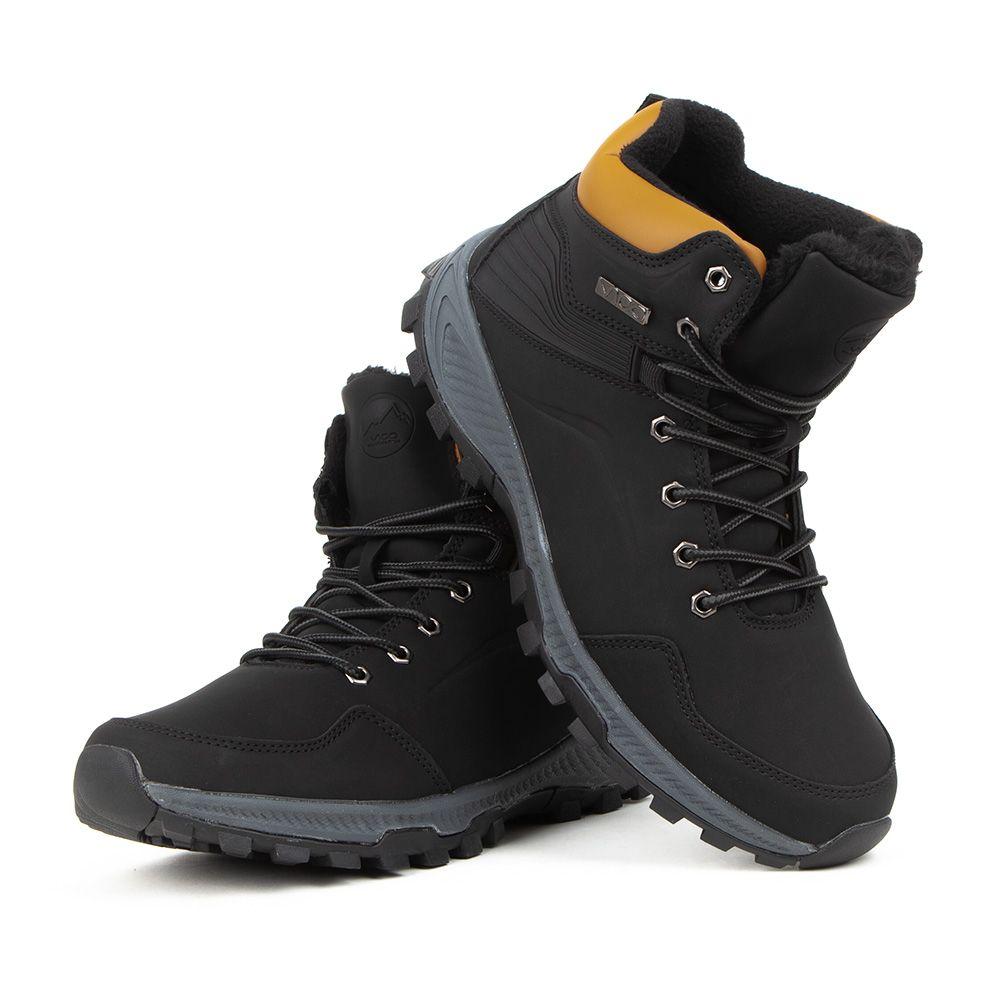 Buty zimowe VICO Mountain czarne długie Vop19