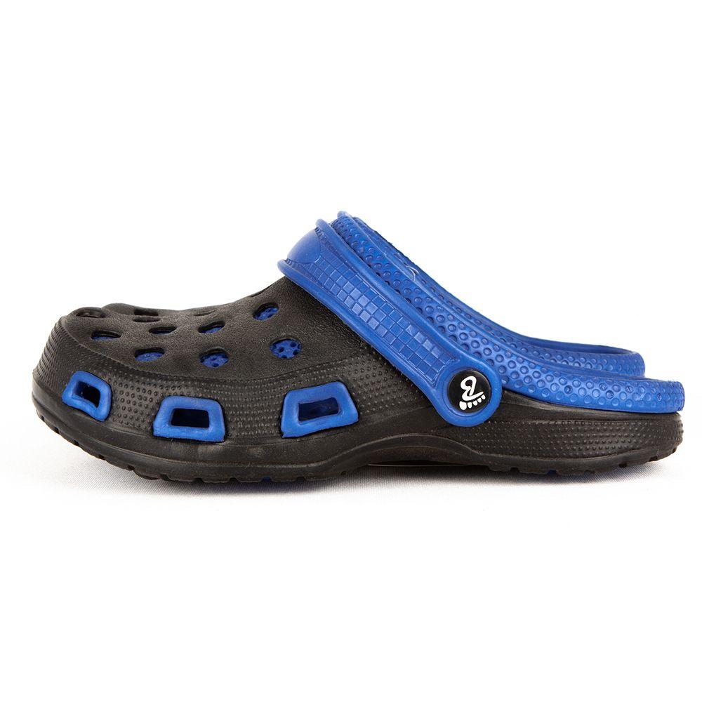Chodaki Balloon my Shoes czarne z niebieskim