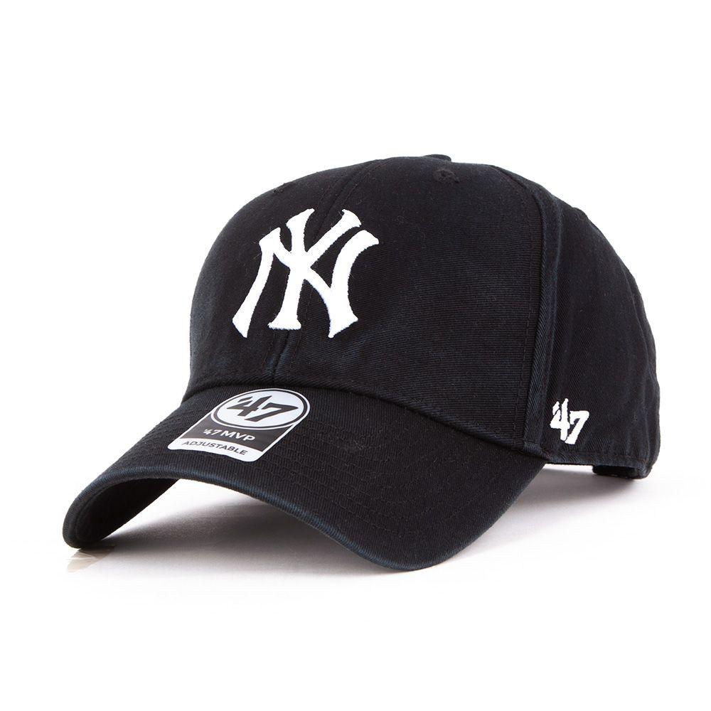 Czapka 47 Brand Snapback NY Yankees czarna MVP