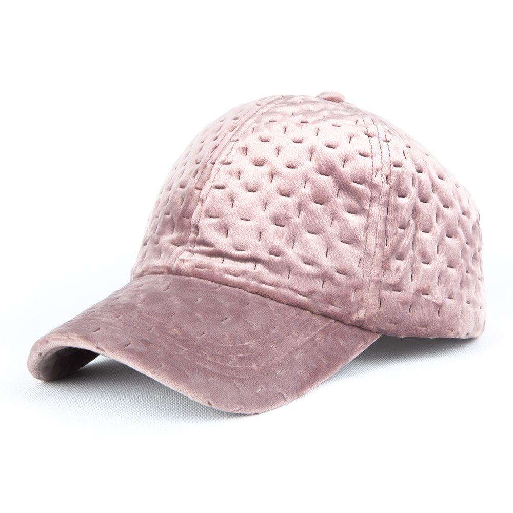 Czapka zimowa Bangastic Snapback Velvet różowa