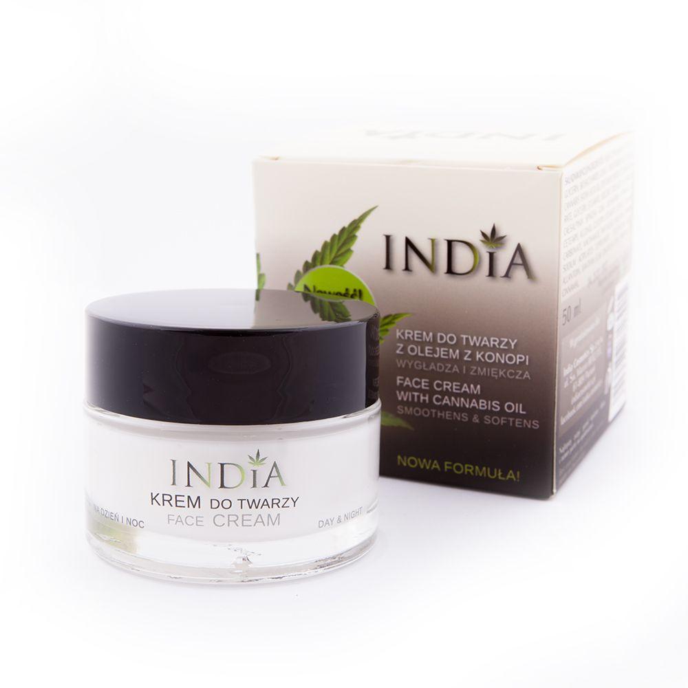 India Cosmetics Krem do twarzy krótki termin PROMO