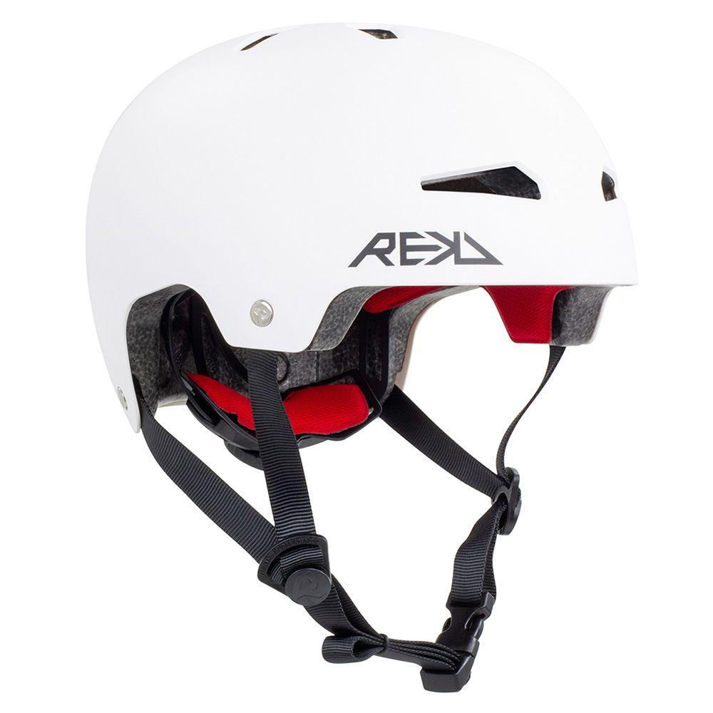 Kask REKD Protection Elite 2.0 Junior biały