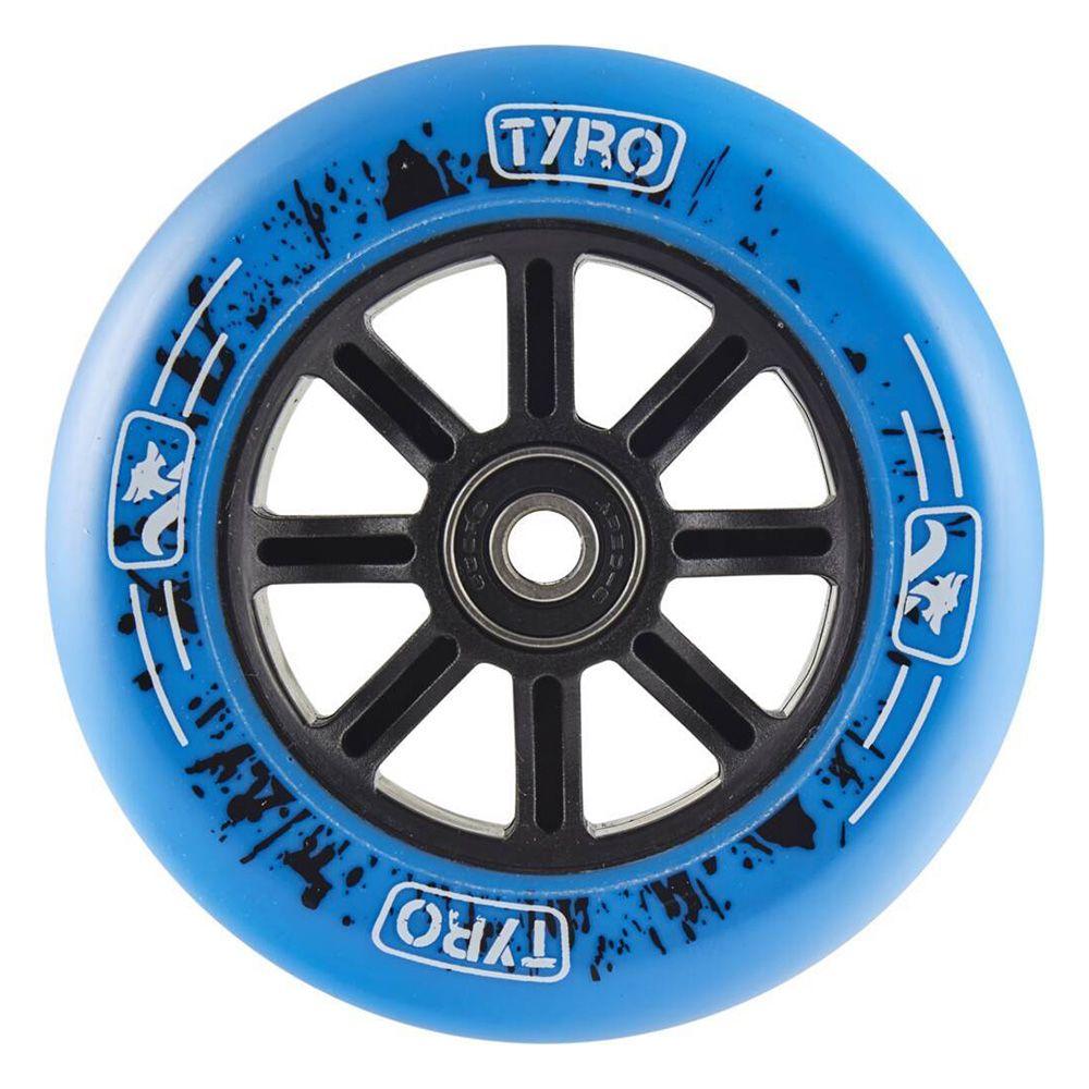 Koło do hulajnogi Tyro Nylon core 100mm niebieskie