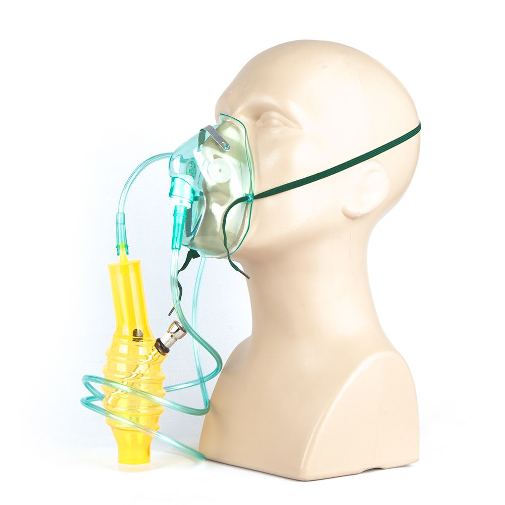 Maska Bongo Medical High Teraphy spiral yellow