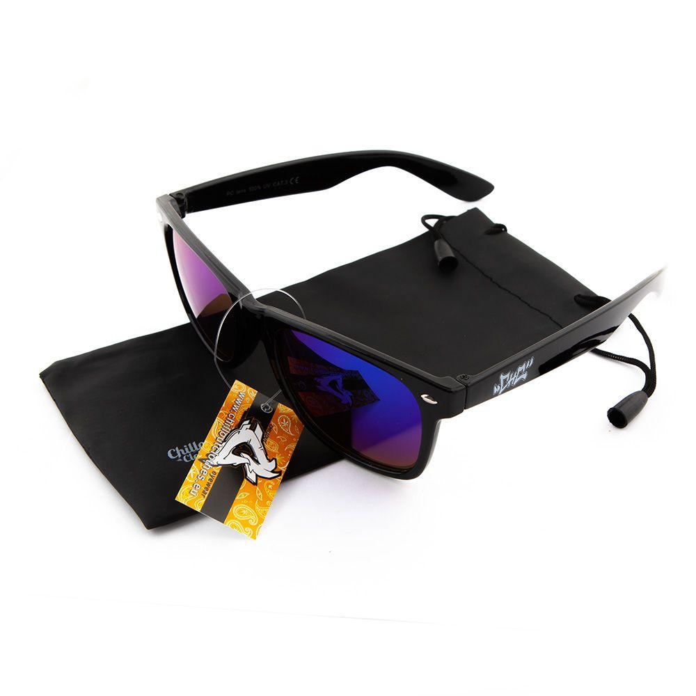 Okulary przeciwsłoneczne Chillout CHC pin BLK GR L