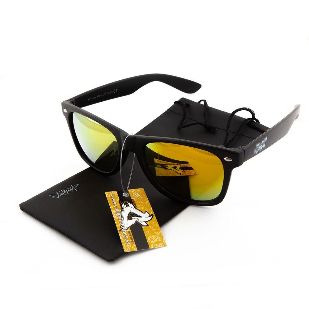 Okulary przeciwsłoneczne Chillout Graff Mat Yel