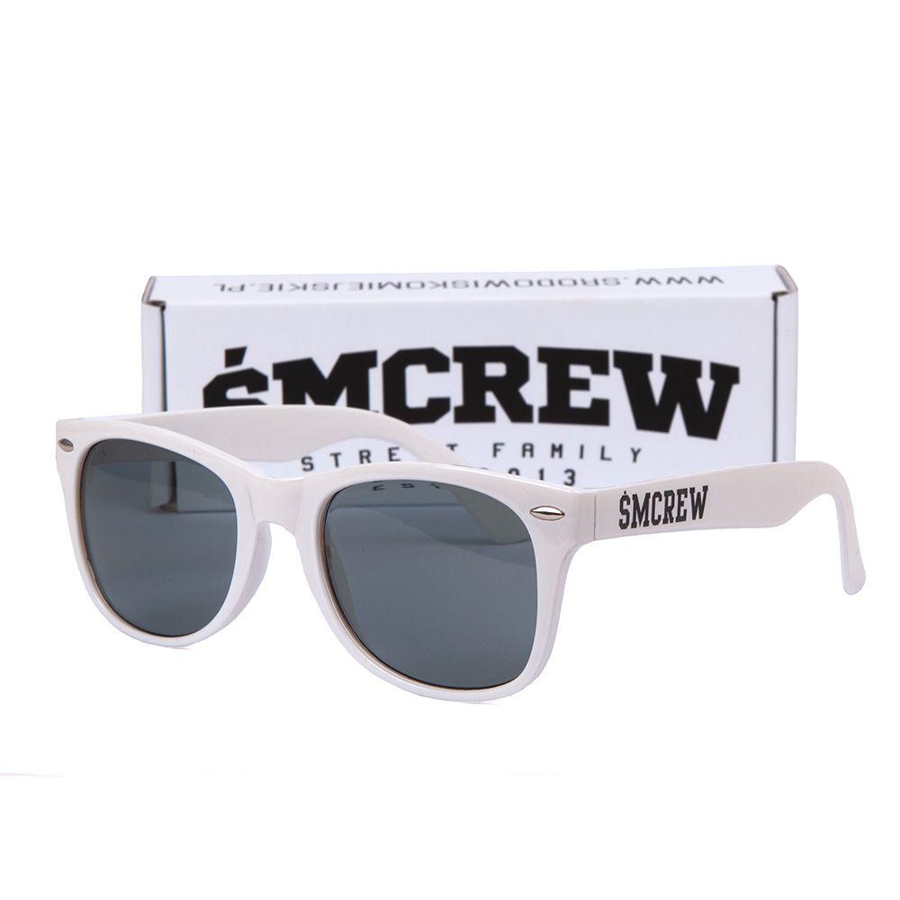 Okulary Środowisko Miejskie ŚMCREW białe oksy