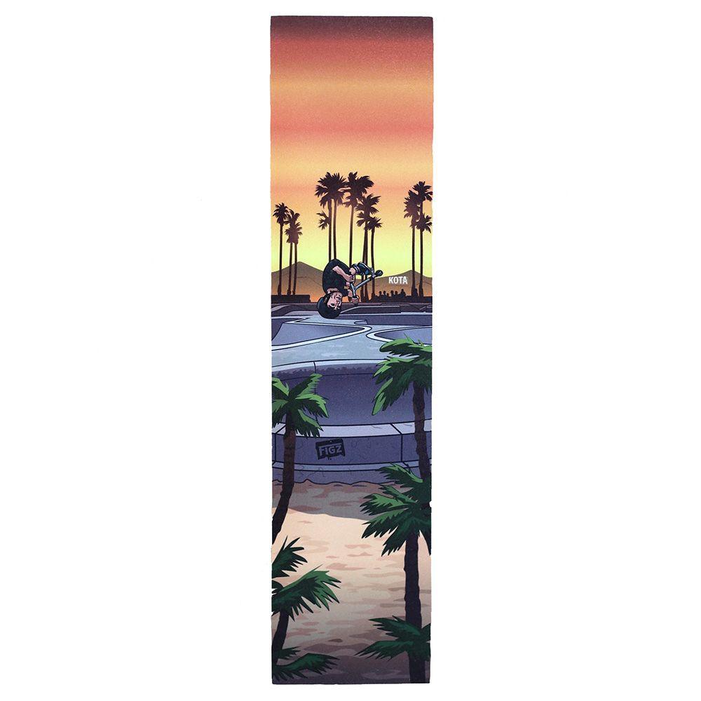 Papier Grip tape Figz na hulajnogę Kota In Cali