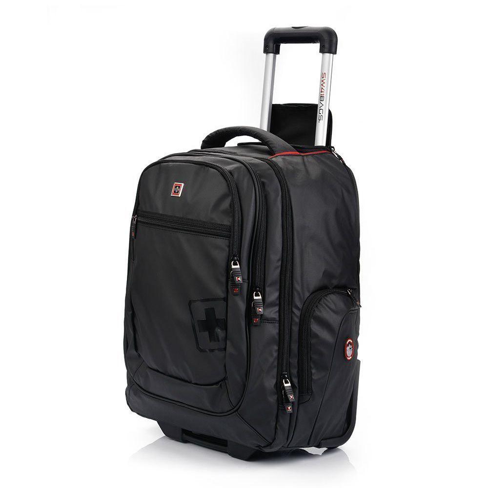 Plecak z kółkami na laptopa Swissbags SAXON 42L