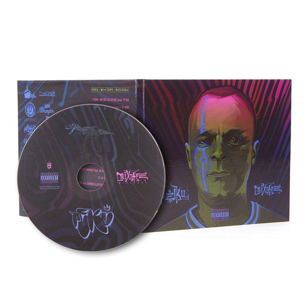 Płyta CD Pęku - Mixtape Nielegal (2021) Rap