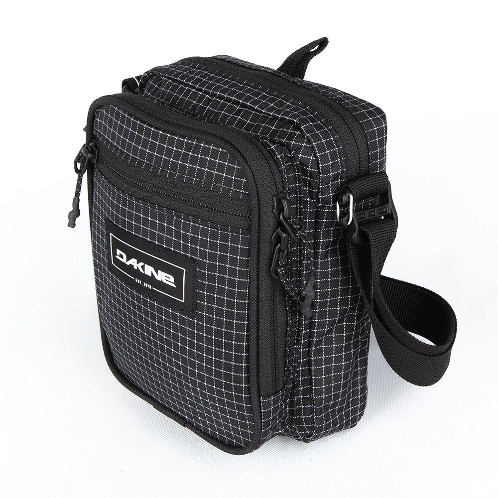 Saszetka Dakine Field Bag Rincon w kratkę czarna