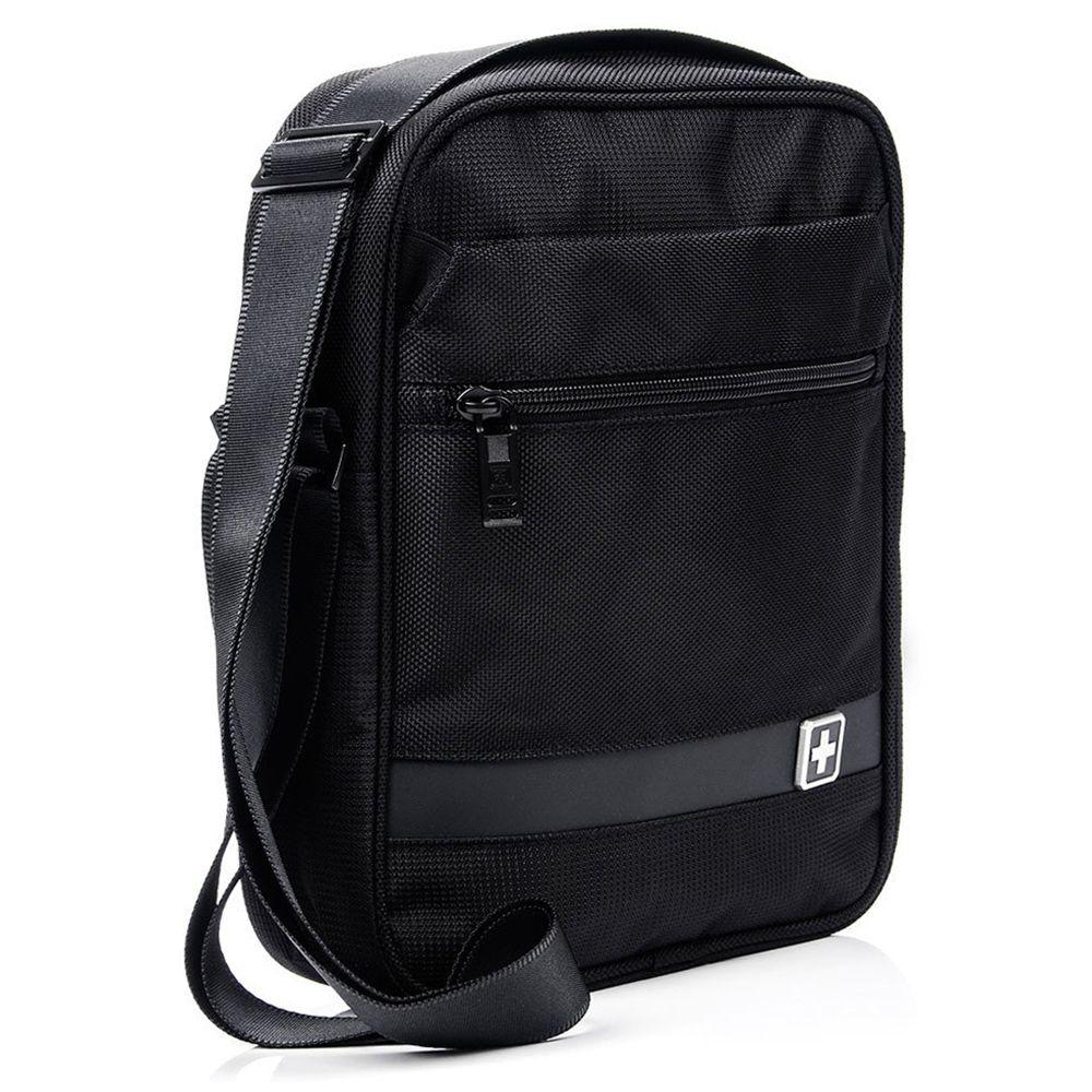 Saszetka torba SwissBags SOLOTHURN 3.8L czarna