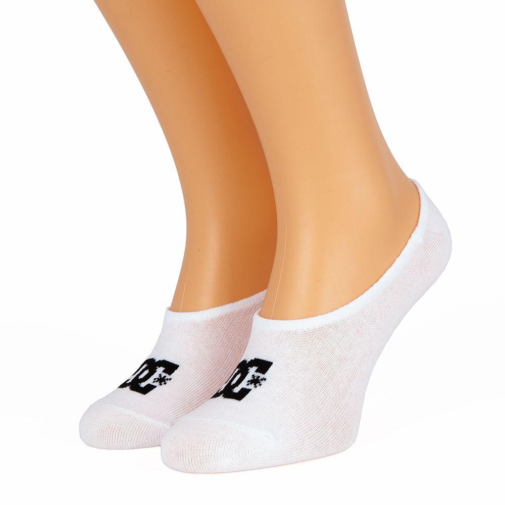 Skarpetki DC Shoe 3 pary MikroStopki białe 40-45