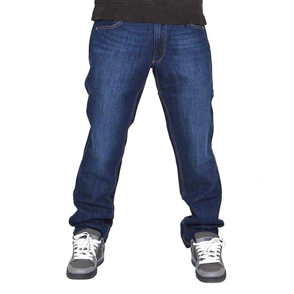 Spodnie Diil Klasyk FTS niebieskie 177