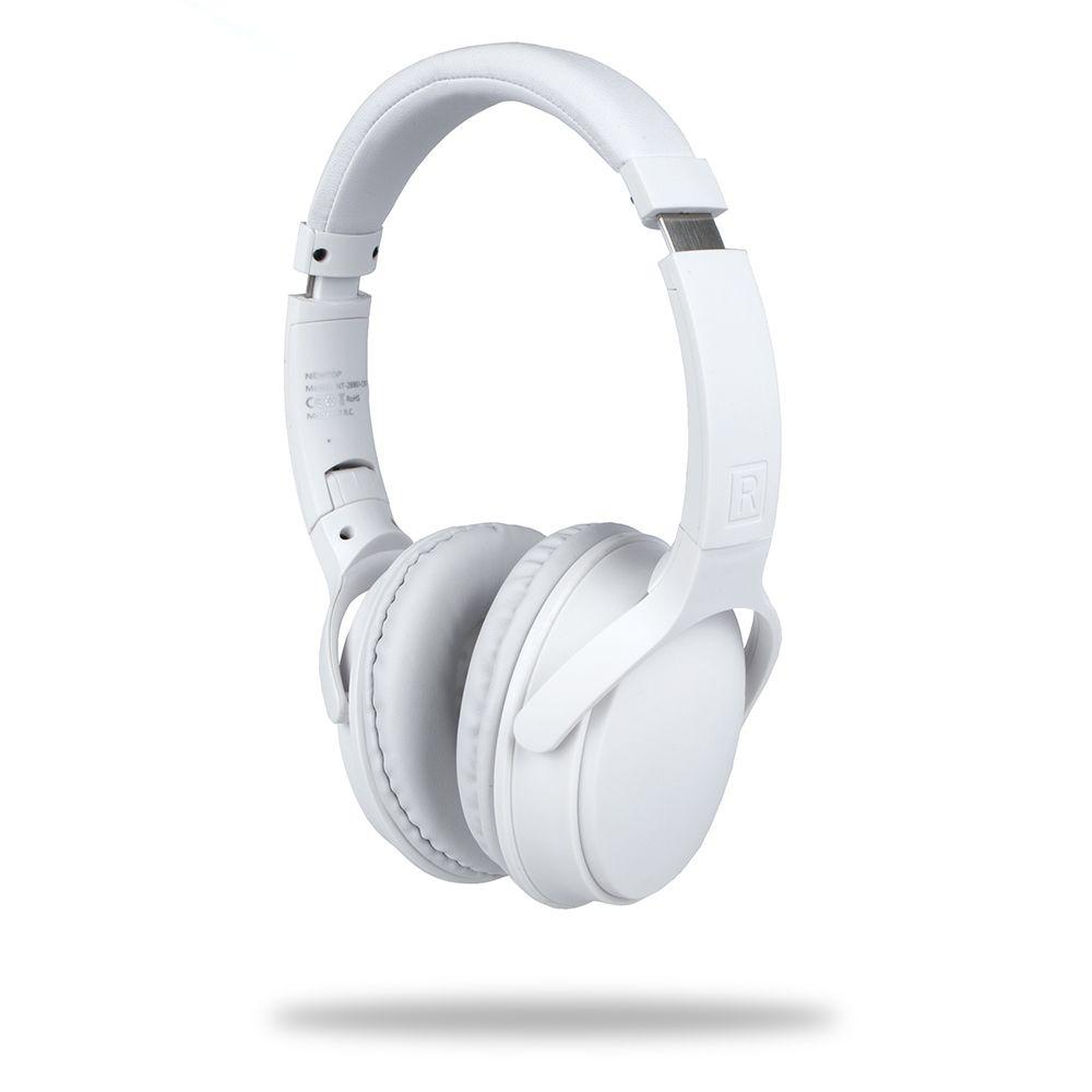 Słuchawki Stereo BLUETOOTH NewTop CB01 DJ białe