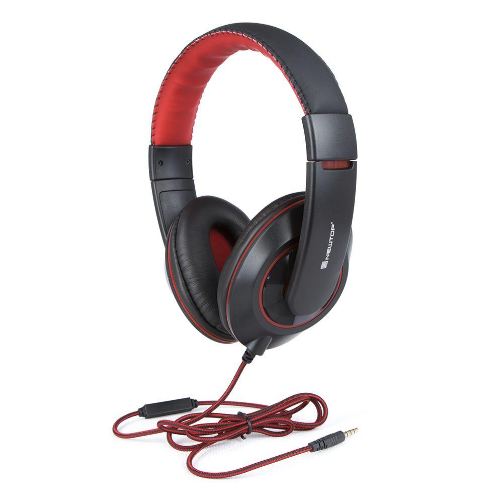 Słuchawki Stereo z mikrofonem NewTop X13 czarne
