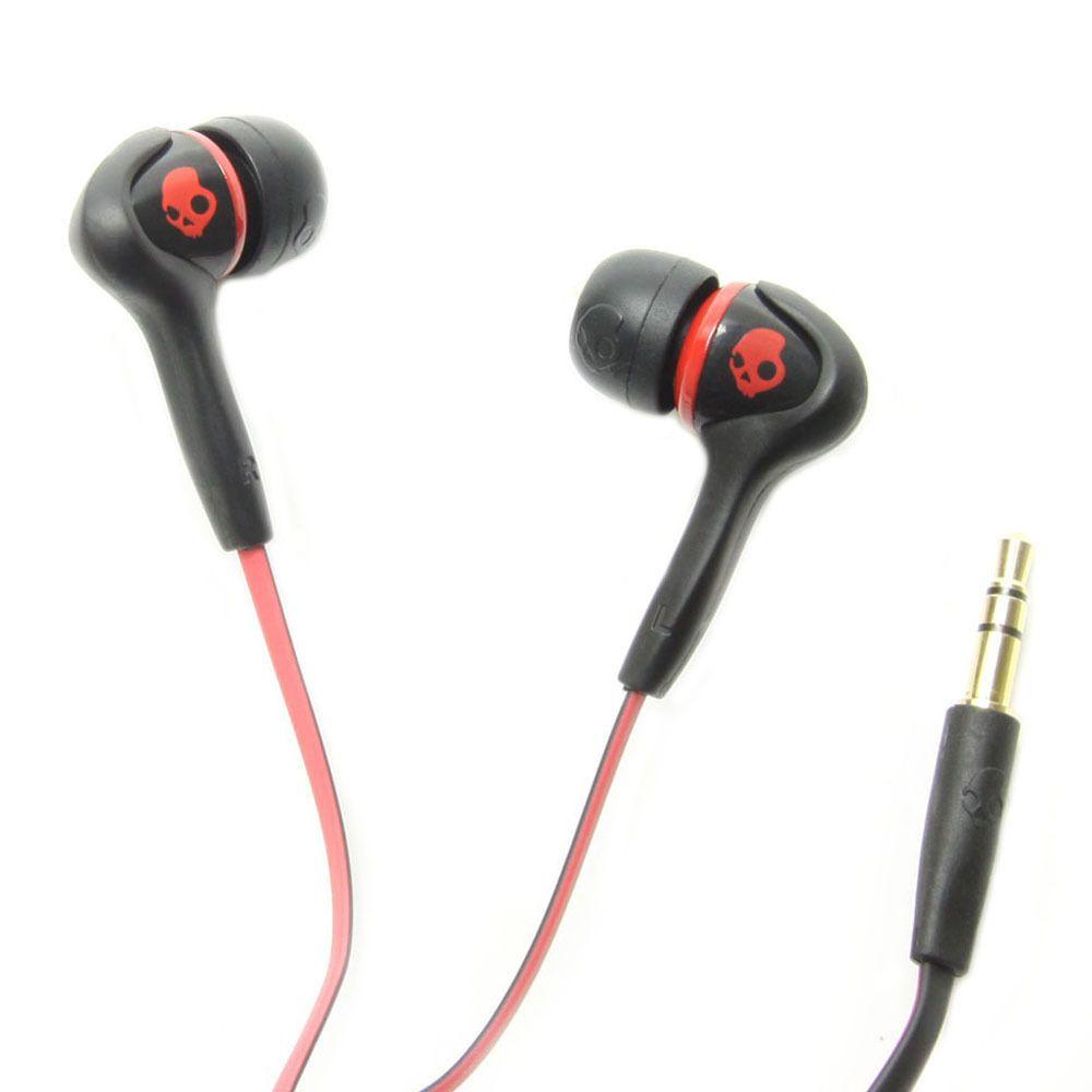 Słuchawki Skullcandy Smokin Buds Black Red