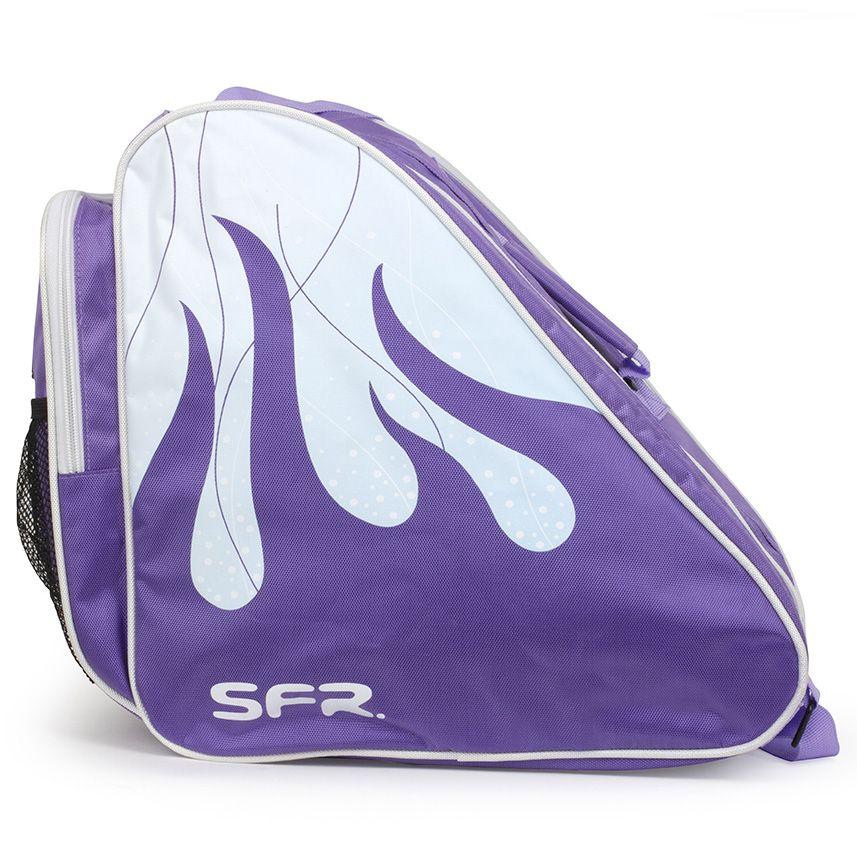 Torba na wrotki rolki łyżwy SFR Pro Ice fioletowa