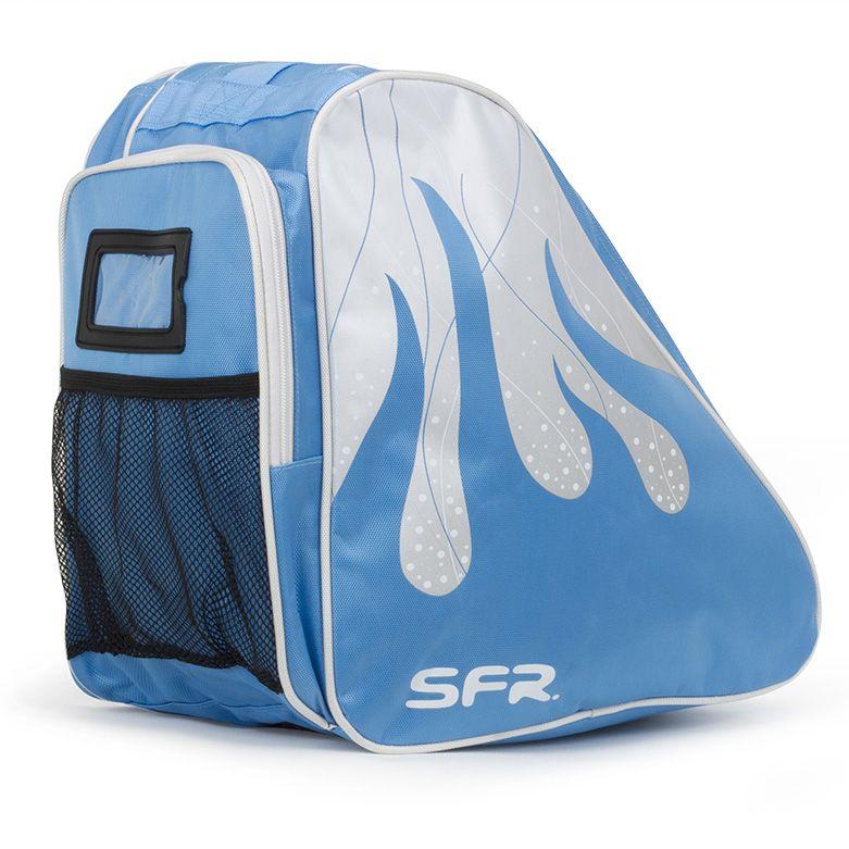 Torba na wrotki rolki łyżwy SFR Pro Ice niebieska