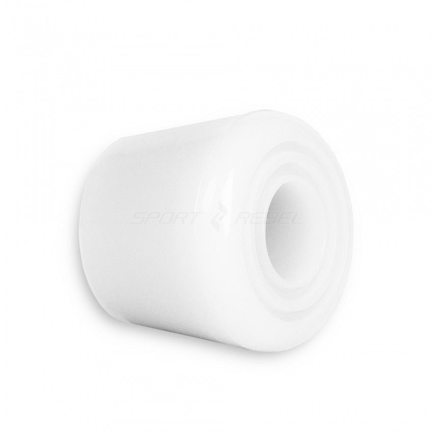 Hamulec do wrotek TEMPISH PVC biały 2szt 46mm