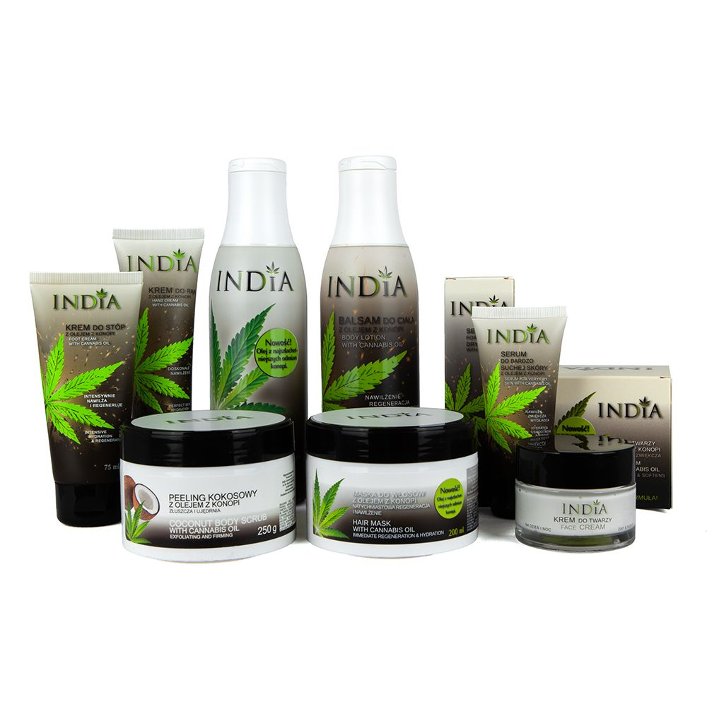 Zestaw kosmetyków Max India Cosmetics 8w1 + gratis
