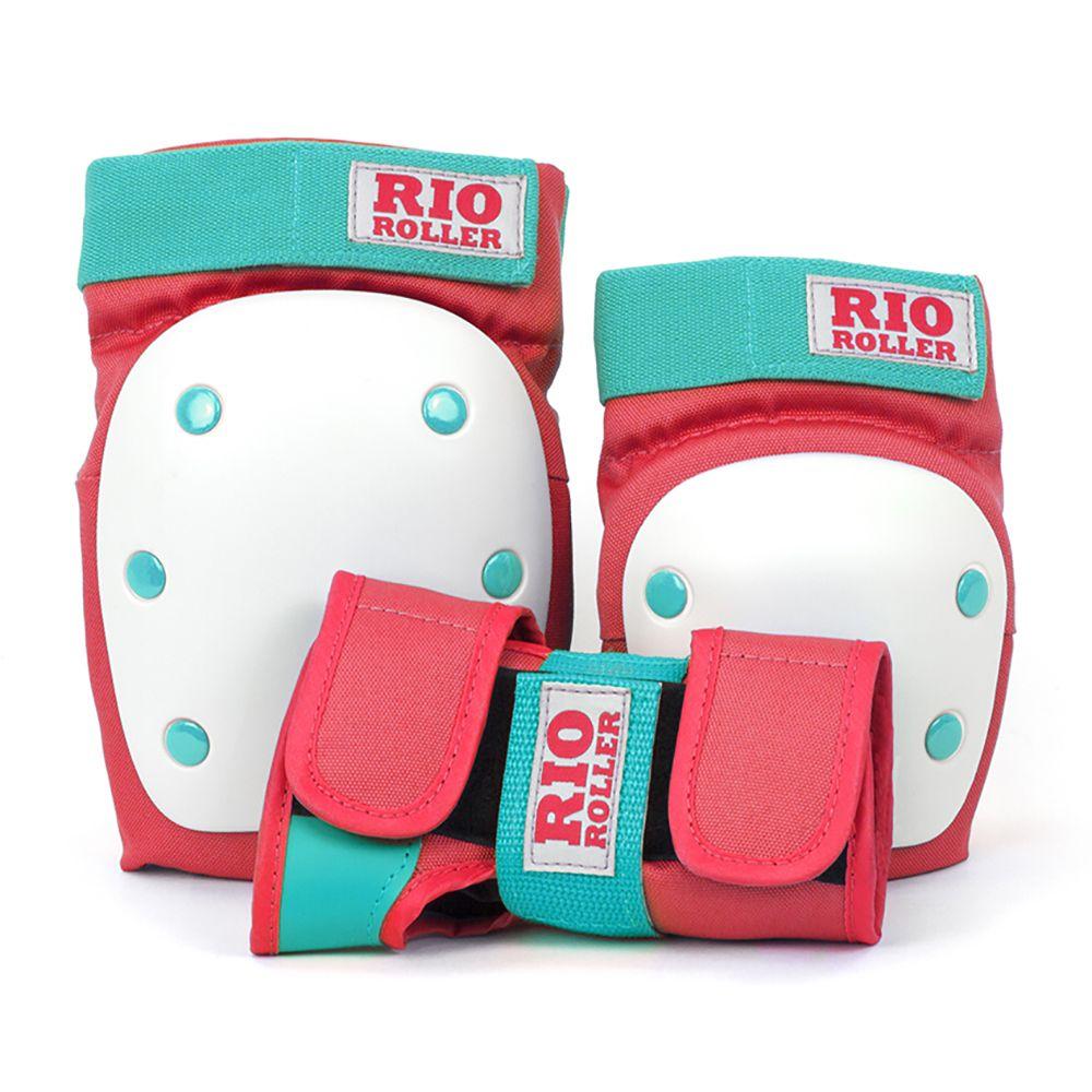 Zestaw ochraniaczy Rio Roller na skate Mint