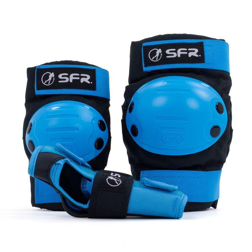 Zestaw ochraniaczy SFR Youth Na wrotki Blue