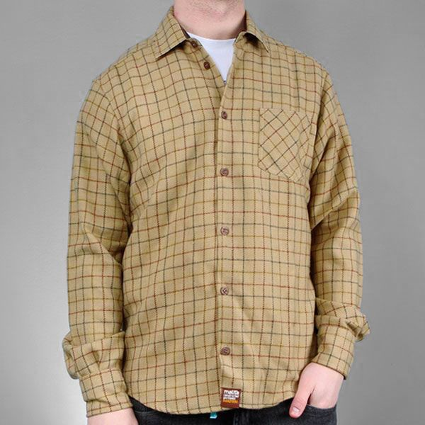 Koszula polo light brown hhs
