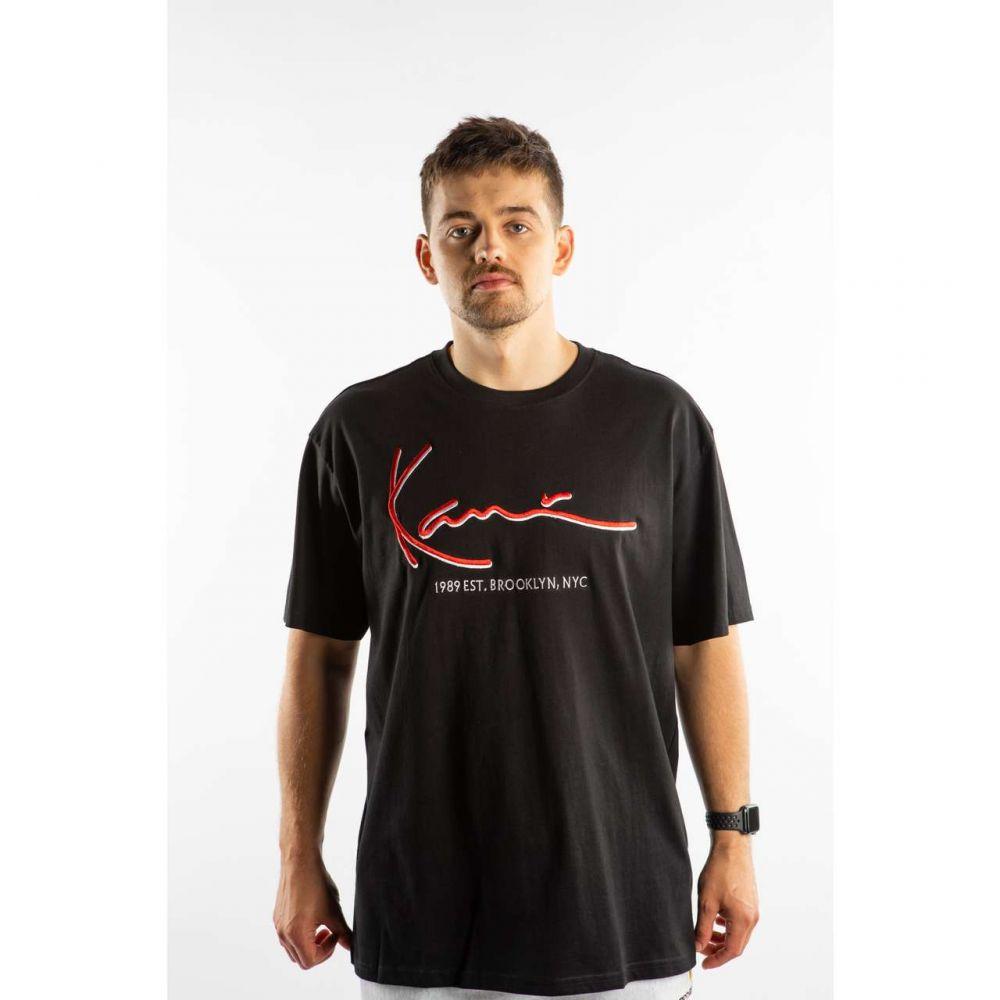 Koszulka karl kani signature tee 6060149 blackred
