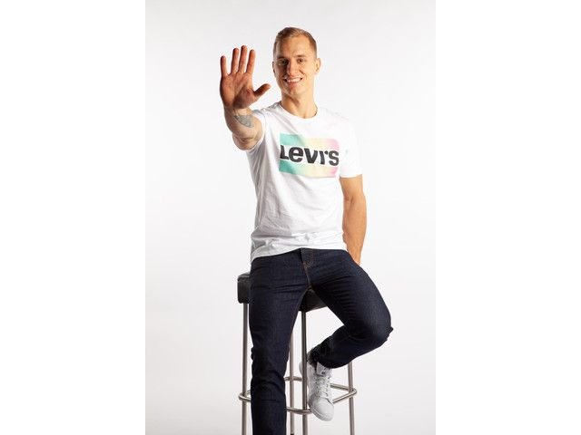 Koszulka levis sportwear logo 39636 0029 white