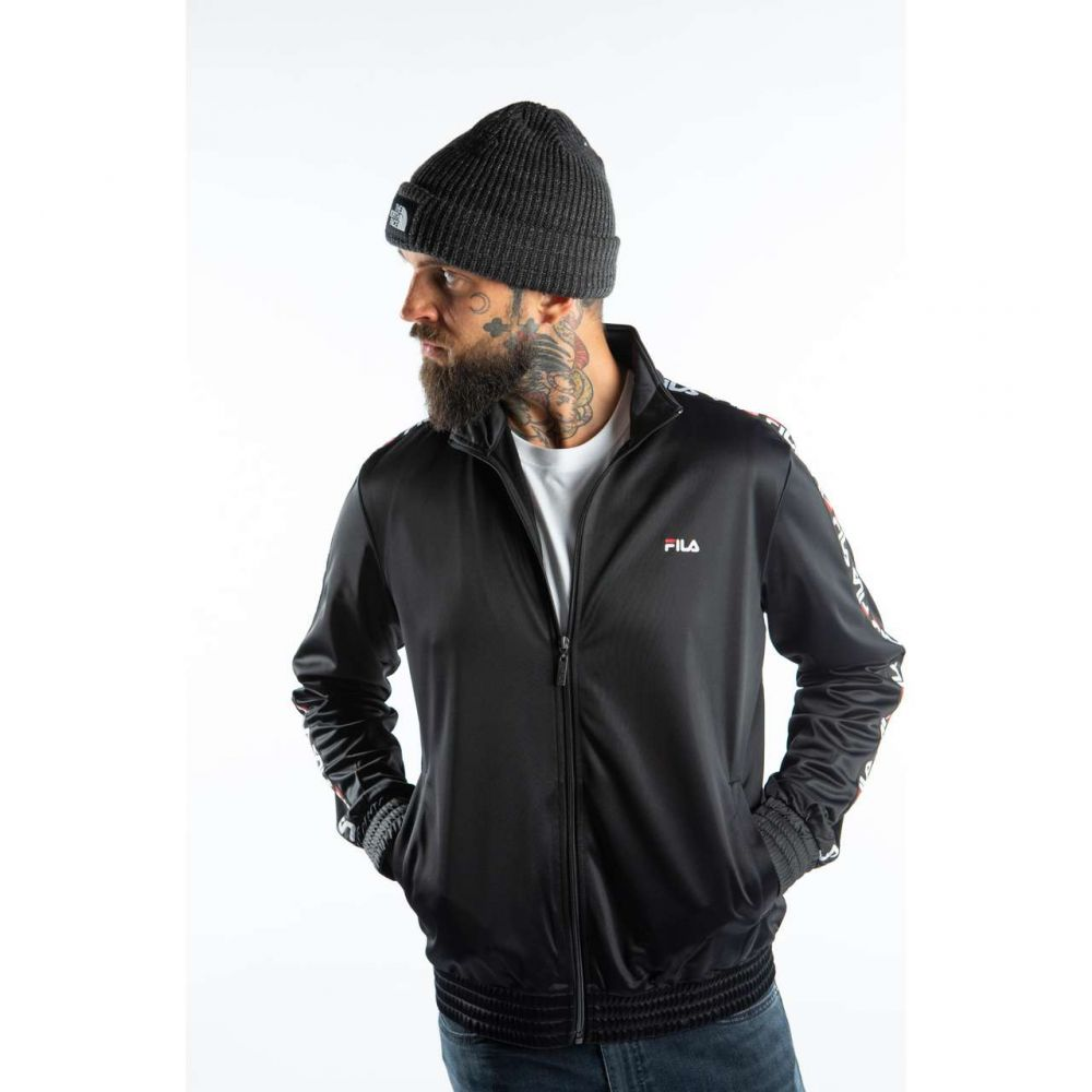 Kurtka / bluza fila men tape track jacket 681867 002 black