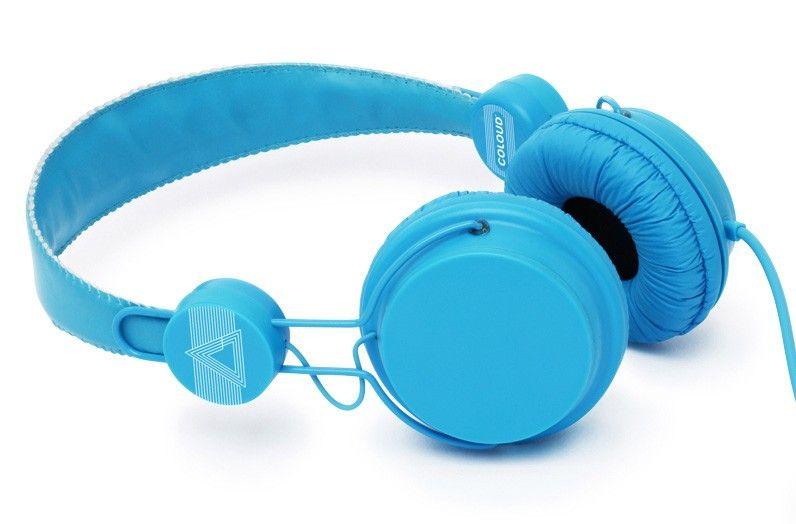 Słuchawki Coloud Colors Blue nauszne niebieskie