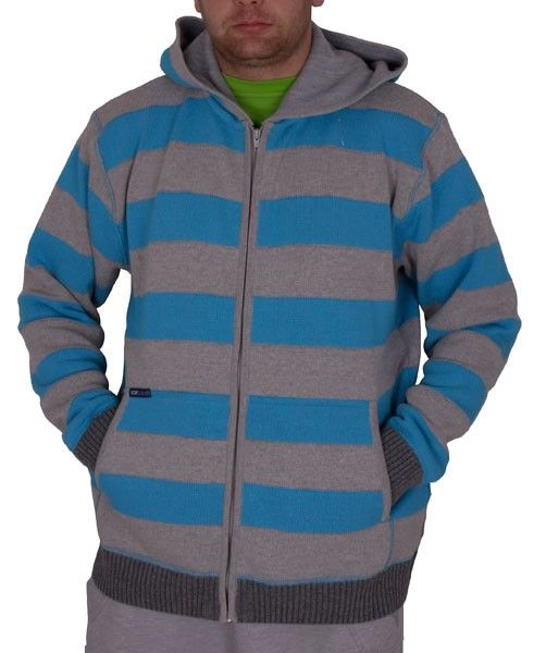 SWETER LOOP 787 A3 GRY BLU OUTLET