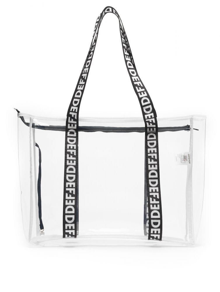 DEF / Bag Clear in white