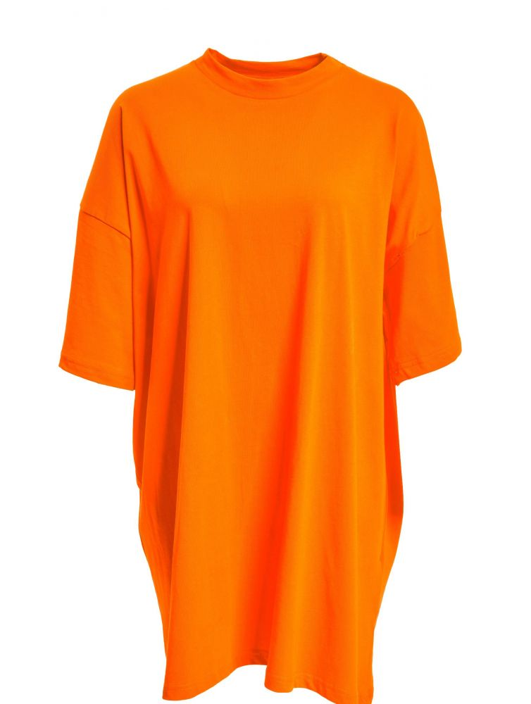 DEF / Dress Harper in orange