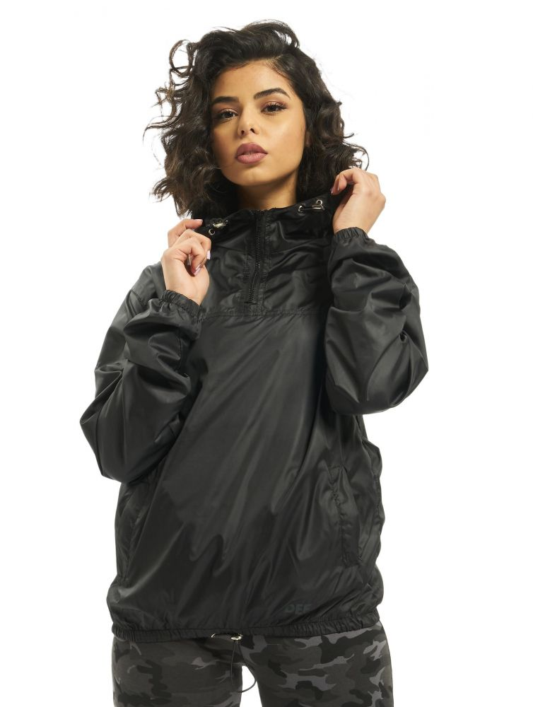 DEF / Lightweight Jacket Ramie in black