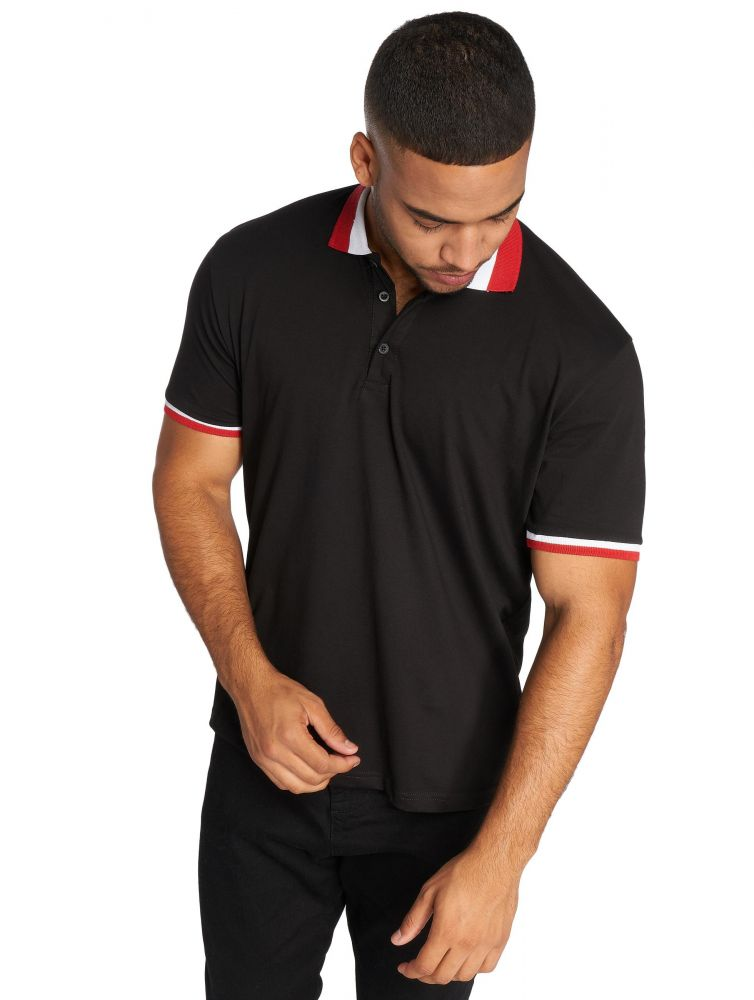 DEF / Poloshirt Aby in black