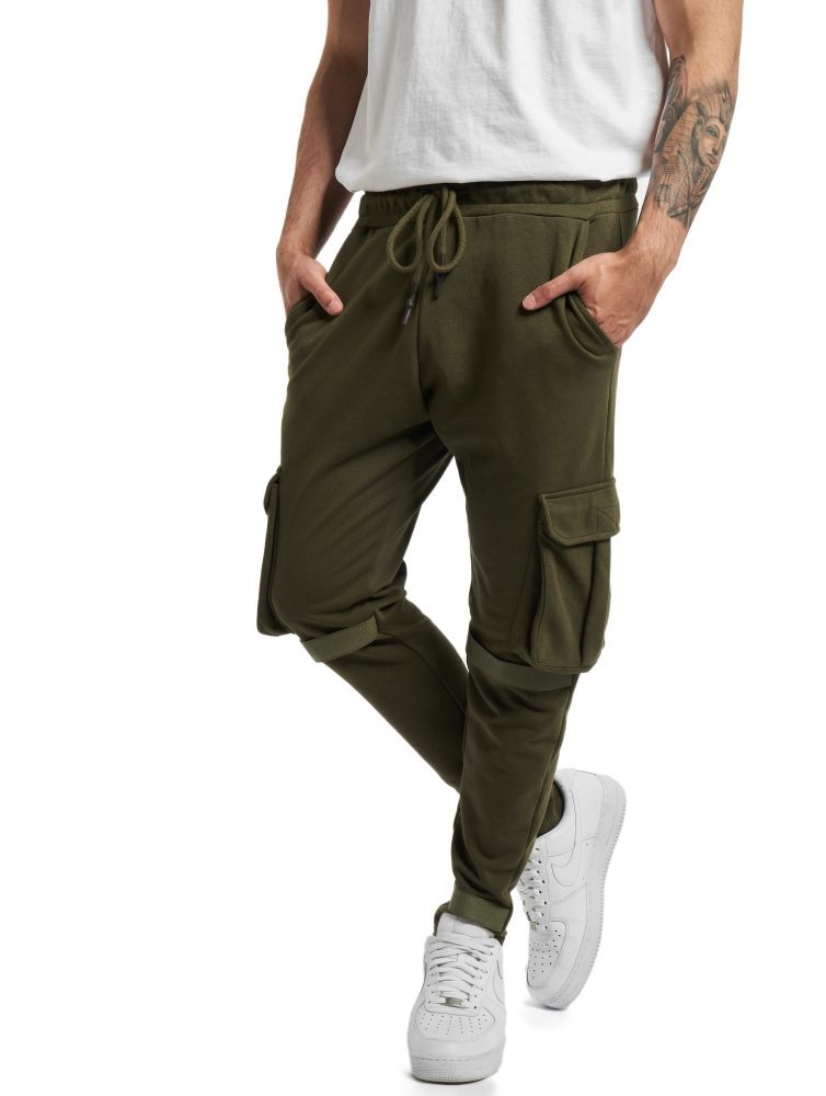DEF / Sweat Pant Coda in olive