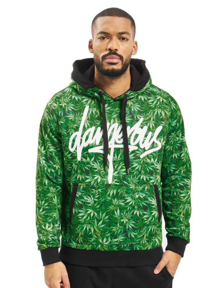 Bluza Dangerous Greenline Weed Zielona green