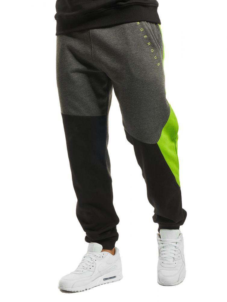 Spodnie dresowe wąskie Dangerous Cubix szare